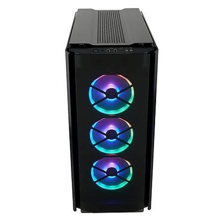Corsair Obsidian 500D RGB SE Temperli Cam ATX MidTower Kasa PSU Yok