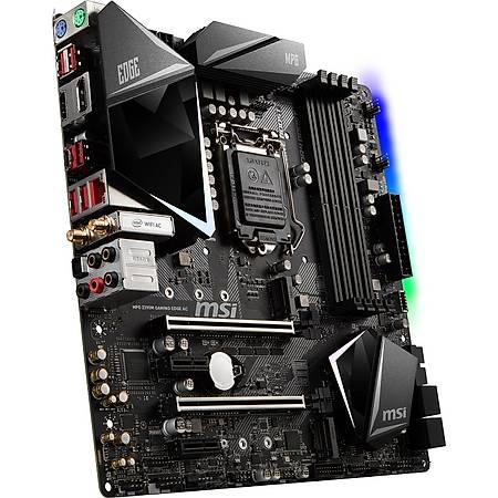 MSI MPG Z390 GAMING EDGE AC DDR4 4400MHz (OC) HDMI DP M.2 USB3.1 RGB WI-FI ATX 1151p
