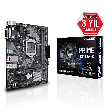 ASUS PRIME H310M-K DDR4 2666MHz VGA mATX 1151p