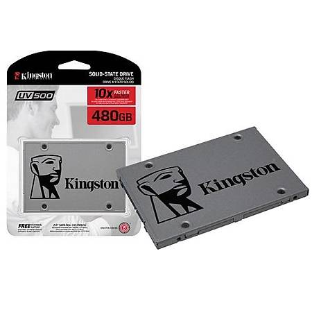 Kingston UV500 480GB Sata 3 SSD Disk SUV500/480G