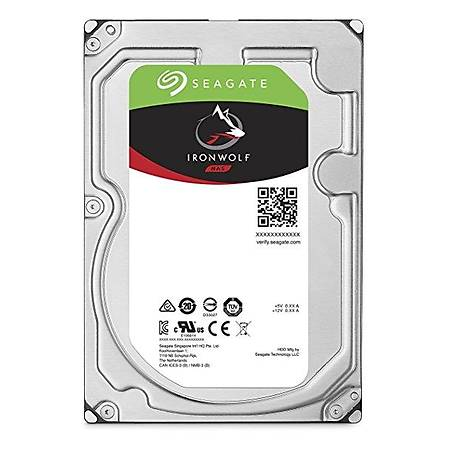 Seagate IronWolf Nas 3.5 6TB 7200Rpm 256Mb Sata 3 210Mb/S 180TB/Y ST6000VN0033