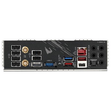 GIGABYTE B550 AORUS PRO AX Wi-Fi DDR4 5100MHz (OC) HDMI TYPE-C M.2 USB 3.2 ATX AM4