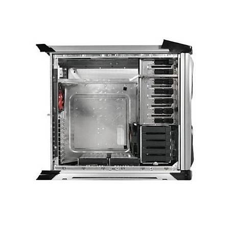 Thermaltake XaserVI Pencereli Aluminyum Full-Tower Gümüþ PSU Yok