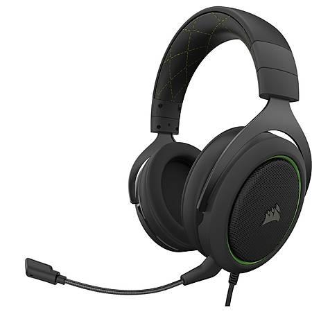 Corsair HS50 Pro Stereo Yeþil Gaming Kulaklýk