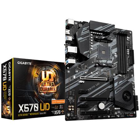 GIGABYTE X570 UD DDR4 4400MHz (OC) HDMI M.2 USB 3.2 ATX AM4