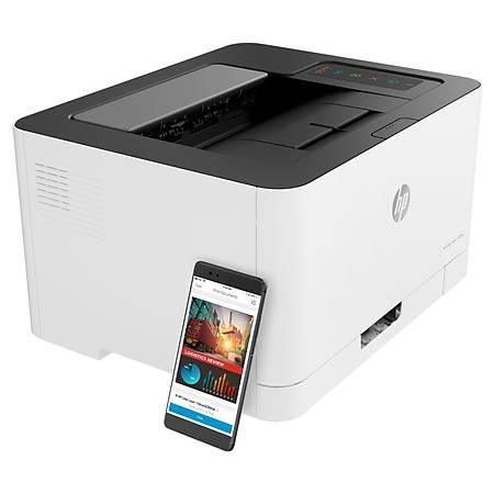 HP ColorLaserJet 150nw Wi-Fi Network Renkli Lazer Yazýcý 4ZB95A