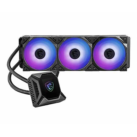 MSI MAG CORELIQUID K360 360mm aRGB 2.4 Lcd Ekranlý Ýþlemci Sývý Soðutucu
