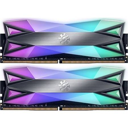 XPG 16GB (2x8GB) Spectrix DT60 RGB DDR4 3200MHz CL16 Gri Ram