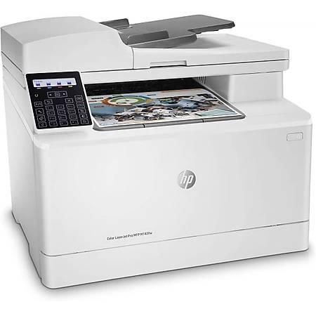 HP ColorLaserJet M183FW Fotokopi Tarayýcý Faks Renkli Wi-Fi Lazer Yazýcý
