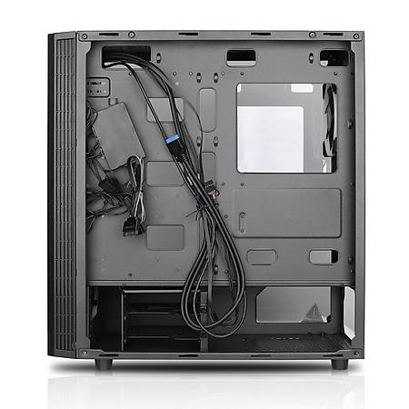 GameBooster GB-X51 Mesh Panel MidTower Kasa PSU Yok