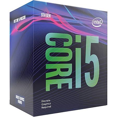 Intel Core i5 9500F Soket 1151 3.0GHz 9MB Cache Ýþlemci