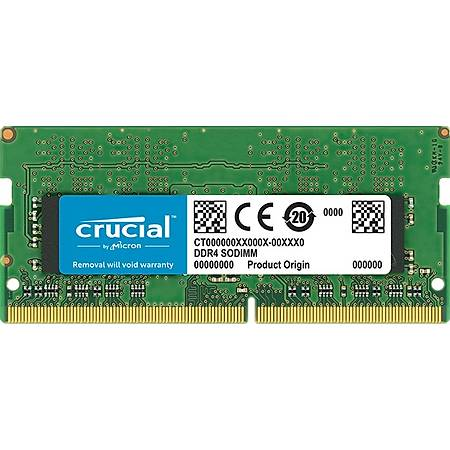 Crucial 4GB DDR4 2666MHz CL19 Notebook Ram
