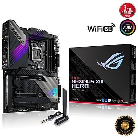 ASUS ROG MAXIMUS XIII HERO Z590 DDR4 5333MHz HDMI 4xM.2 USB 3.2 AX Wi-Fi AURA RGB 2x2.5Gbit ATX Thunderbolt 4 1200p