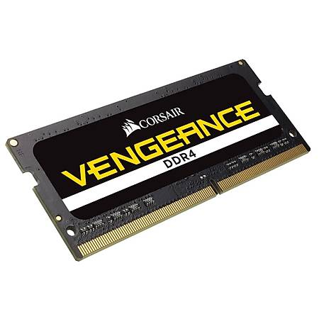 Corsair Vengeance 32GB (2x16GB) DDR4 3000MHz CL18 Siyah Notebook Ram