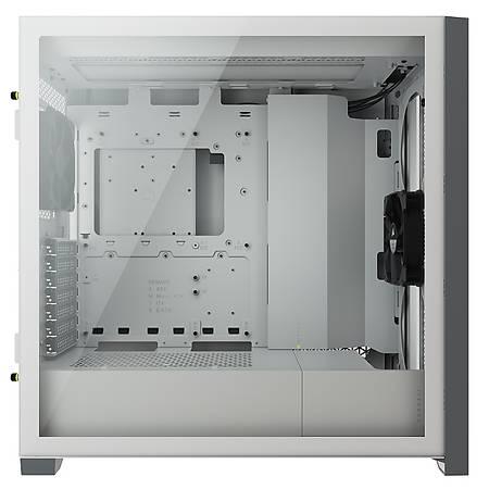 Corsair 5000D Airflow Temperli Cam Yan Panel ATX MidTower Beyza Kasa PSU Yok