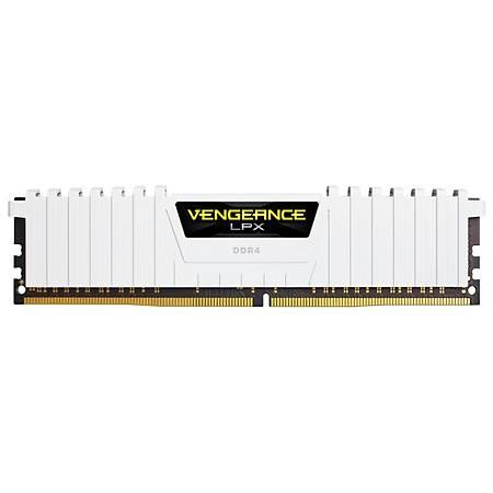 Corsair Vengeance LPX 32GB (4x8GB) DDR4 3200MHz CL16 Beyaz Ram