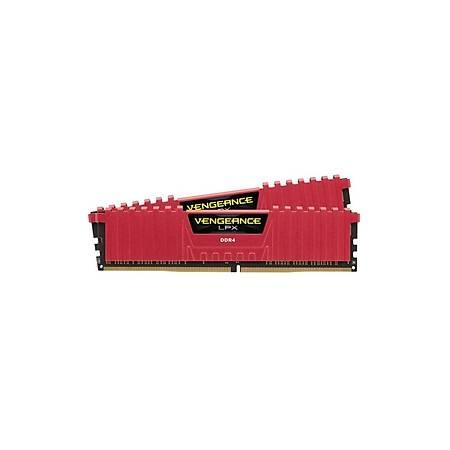 Corsair Vengeance LPX 16GB (2x8GB) DDR4 2400MHz CL16 Kýrmýzý Dual Kit Ram
