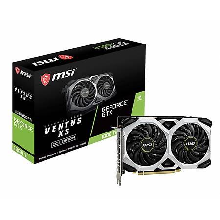 MSI GeForce GTX 1660 Ti VENTUS XS 6GB 192Bit GDDR6