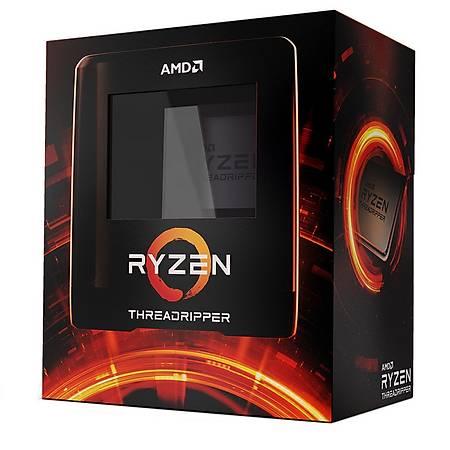 AMD Ryzen 3960X Threadripper Soket sTRX4 3.8Ghz 128MB Cache Ýþlemci