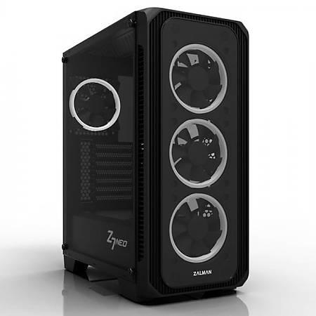 Zalman Z7 Neo ATX MidTower RGB Kasa Siyah PSU Yok