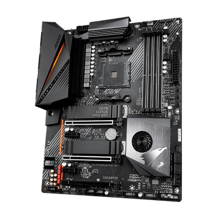 GIGABYTE X570 AORUS PRO Wi-Fi DDR4 5100MHz (OC) HDMI TYPE-C M.2 USB 3.2 ATX AM4