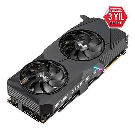 ASUS Dual GeForce RTX 2080 SUPER EVO 8GB 256Bit GDDR6