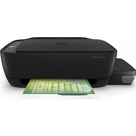 HP DeskJet 315 Fotokopi Tarayýcý Tanklý Yazýcý Z4B04A