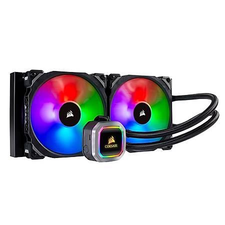 Corsair Hydro H115i Platinum RGB 280mm Intel ve AMD Uyumlu Sývý Soðutma Sistemi