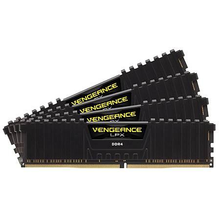 Corsair Vengeance LPX 64GB (4x16GB) DDR4 3000MHz CL16 Siyah Ram