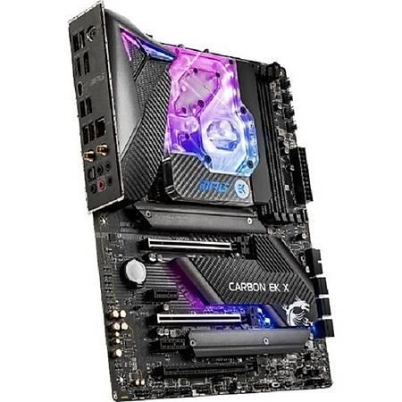 MSI MPG Z490 CARBON EK X DDR4 4800MHz (OC) HDMI DP M.2 USB 3.2 RGB ATX 1200p