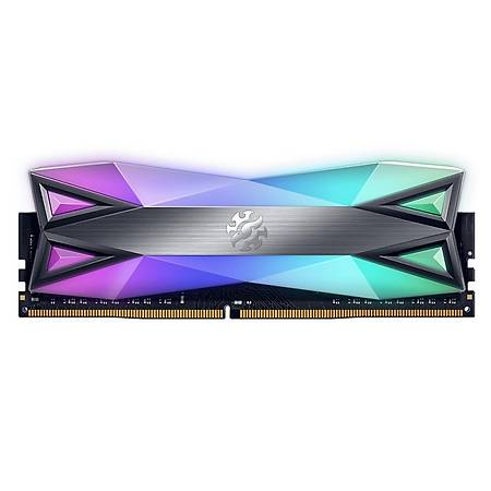 XPG Spectrix D60 RGB 8GB DDR4 3200MHz CL16 Soðutuculu Siyah Ram