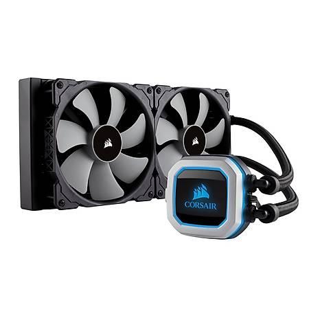 Corsair Hydro H115i Pro RGB 280mm Intel ve AMD Uyumlu Sývý Soðutma Sistemi