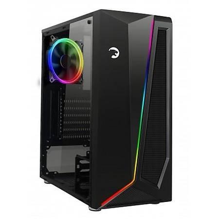 GamePower Dark Side 500W RGB Gaming ATX Siyah Kasa