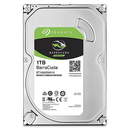 Seagate Barracuda 3.5 1TB 7200Rpm 64Mb ST1000DM010