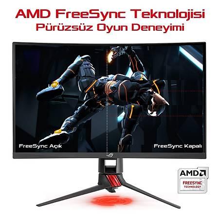 ASUS 27 XG27VQ 1920x1080 144Hz DVI HDMI DP 1ms Curved Gaming Monitör