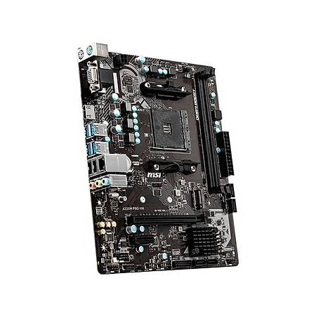 MSI A320M PRO-VH DDR4 3200MHz VGA HDMI M.2 USB3.2 Micro-ATX AM4