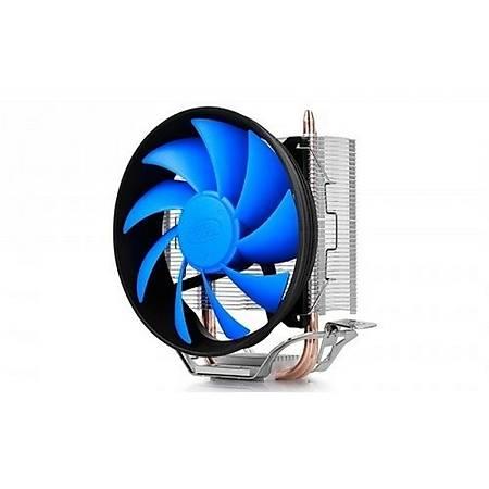 Deep Cool Gammaxx 200T 120x25mm PWM Fan AMD Intel Uyumlu Ýþlemci Soðutucusu