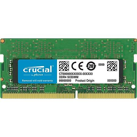 Crucial for Mac 8GB DDR4 2666MHz CL19 SODIMM Ram