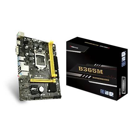 Biostar B365M-HC DDR4 2666MHz VGA HDMI M.2 mATX 1151p