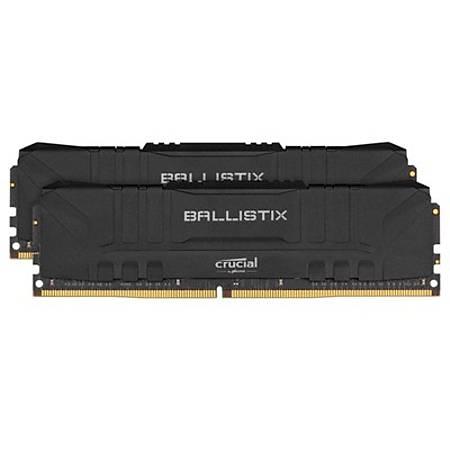 Crucial Ballistix 16GB (2x8GB) DDR4 3000MHz CL16 Siyah Ram