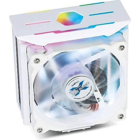 Zalman CNPS10X Optima II 120mm AMD Intel Uyumlu Beyaz Ýþlemci Soðutucu