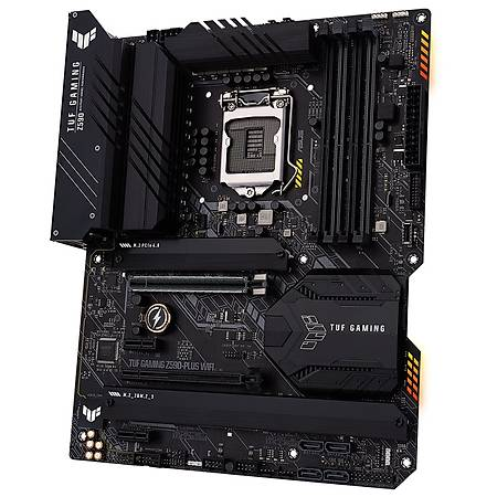ASUS TUF GAMING Z590-PLUS DDR4 5100MHz HDMI DP M.2 USB3.2 Wi-Fi ATX 1200p