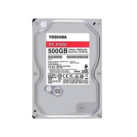 Toshiba P300 3.5 500GB 7200Rpm 64Mb Sata 3 HDWD105UZSVA
