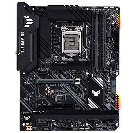 ASUS TUF GAMING H570-PRO DDR4 5000MHz HDMI DP M.2 USB3.2 Thunderbolt Wi-Fi ATX 1200p
