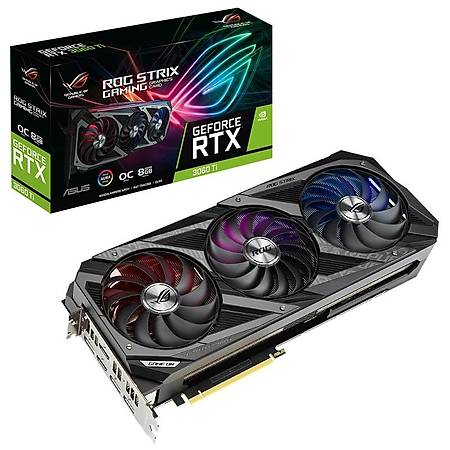 ASUS ROG STRIX GeForce RTX 3060 Ti GAMING OC 8GB 256Bit GDDR6