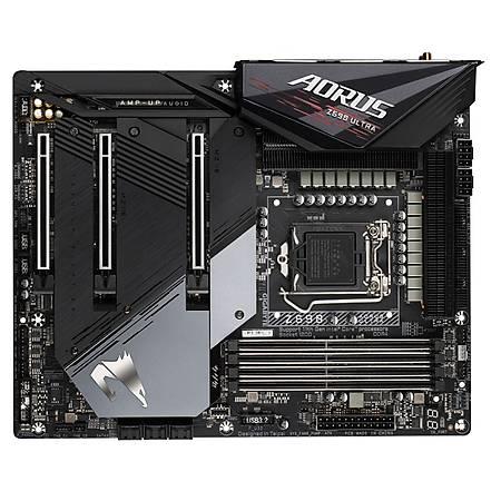 GIGABYTE Z590 AORUS ULTRA DDR4 5400MHz (OC) DP M.2 USB3.2 Wi-Fi RGB ATX 1200p