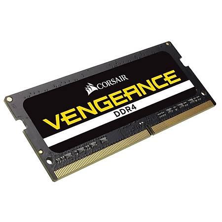 Corsair Vengeance 16GB (2x8GB) DDR4 2666MHz CL18 Siyah Notebook Ram