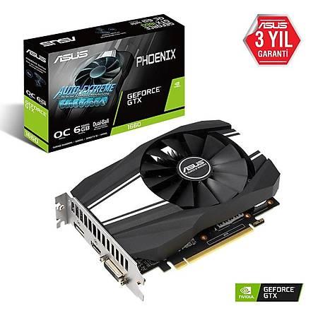 ASUS Phoenix GeForce GTX 1660 6GB OC Edition 192Bit GDDR5