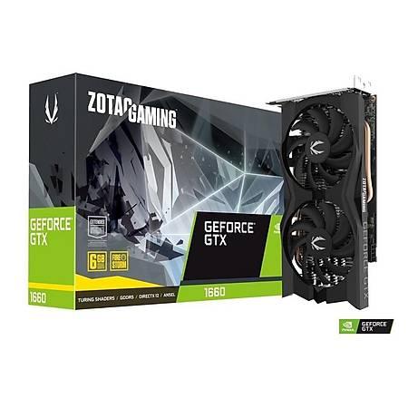 ZOTAC GeForce GTX 1660 Twin Fan 6GB 192Bit GDDR5