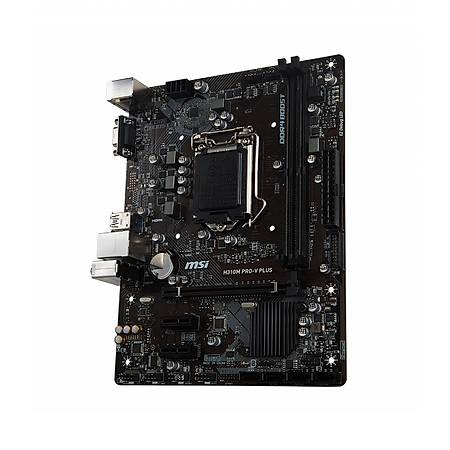 MSI H310M PRO-V PLUS DDR4 2666MHz VGA USB 3.1 mATX 1151p